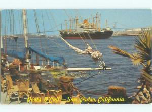 Pre-1980 BOAT San Pedro - Near Torrance & Long Beach & Los Angeles CA AF3675