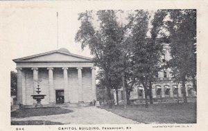 FRANKFORT, Kentucky, 1910-1930s; Capitol Building