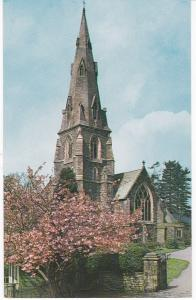 Post Card Cumbria Lake District AMBLESIDE St. Mary's Church