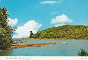 Guam Bear Rock Near Inarajan Bay