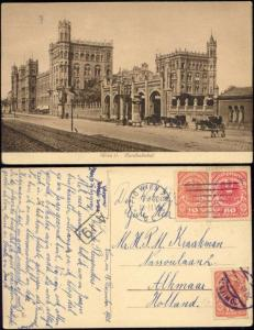 austria, WIEN VIENNA, Nordbahnhof, Railway Station (1920) Stamps