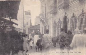 Morocco Casablanca Poste Cherifiene
