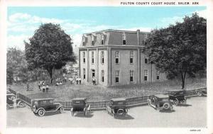 Fulton County Court House, Salem, Arkansas, early postcard, unused