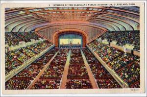 Interior Auditorium, Cleveland OH