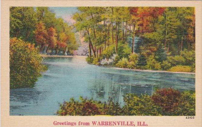 Illinois Greetings From Warrenville