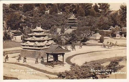 California Bernheimer Oriental Gardens Real Photo RPPC