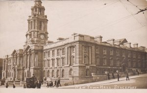 RP: New Town Hall , STOCKPORT , UK , PU-1909