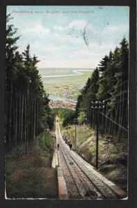 Heidelberg Electric Tramway Germany Used c1910