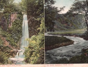 Darwen Brook 2x Antique Lancashire Postcard s