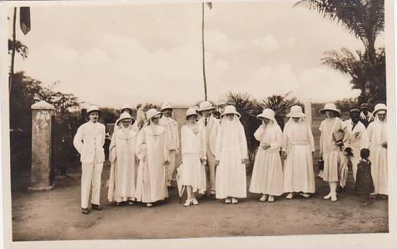 Belgian Congo Visit Prince Albert Real Photo
