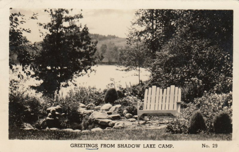 RP: Shadow Lake Camp , STOUFFVILLE , Ontario , Canada 1947