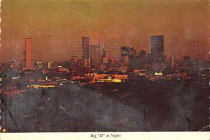 Big D at Night - Dallas, Texas