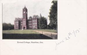 HAMILTON, Ontario, Canada, 1900-1910's; Normal College