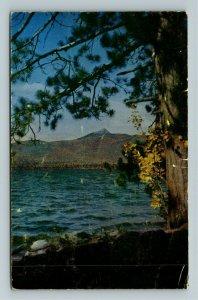 Chocorua NH- New Hampshire, Mt Chocorua, Matterhorn America Chrome c1952Postcard