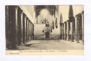 BETHLEHEM , Palestine , 00-10s ; Eglise de la Nativite (colonnade).- Die Basi...