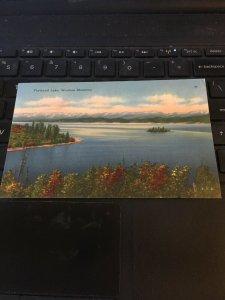 Vintage postcard - Flathead Lake, Western Montana