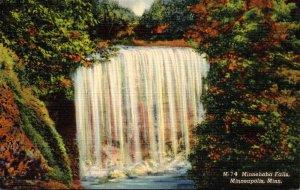 Minnesota Minneapolis Minnehaha Falls Curteich