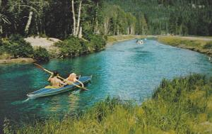 Skoglund's Canal , LAKELSE HOT SPRINGS , Terrace , B.C. , Canada , 50-60s