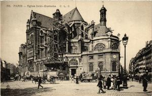 CPA AK PARIS 1e Église St-Eustache (537204)