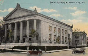 KANSAS CITY , Missouri, 1908 ; Jewish Synagogue