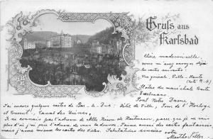 BT2257 Karlsbad karlovy vary litho   czech republic