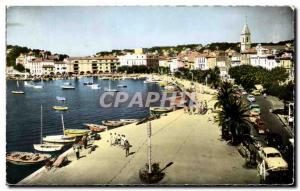 Postcard Modern Sanary Sur Mer Vue Generale