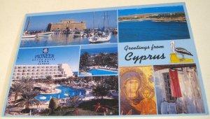 Cyprus Greetings Paphos Pioneer Beach Hotel PBH44 - unposted