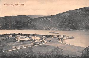 Norway Old Vintage Antique Post Card Aandalsnes Romsdalen Unused