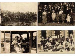 REAL PHOTO PERSONS GROUPS Pre-1940 with BETTER 800 CPA