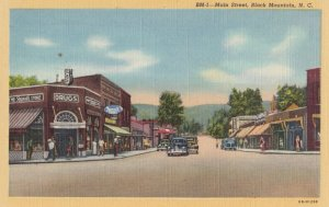 BLACK MOUNTAIN , North Carolina , 1930-40s ; Main Street