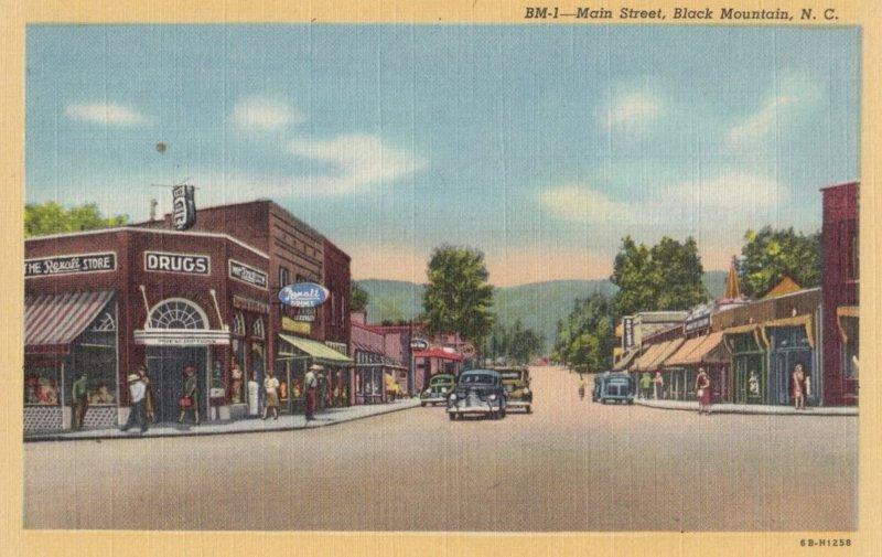 BLACK MOUNTAIN , North Carolina , 1930-40s ; Main Street
