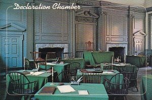 Pennsylvania Philadelphia Declaration Chamber