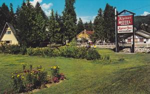The Alpiner Motel and Inn, Restaurant, Sicamous, British Columbia, Canada, 40...