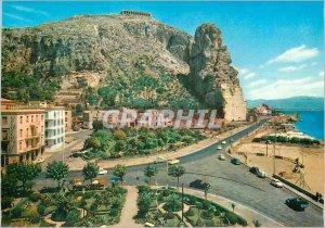 Postcard Modern Terracina Tempio di Giove e Appian
