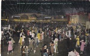 ATLANTIC CITY, New Jersey, 1930-1940s; Ballroom, Hamid's Million Dollar Pier