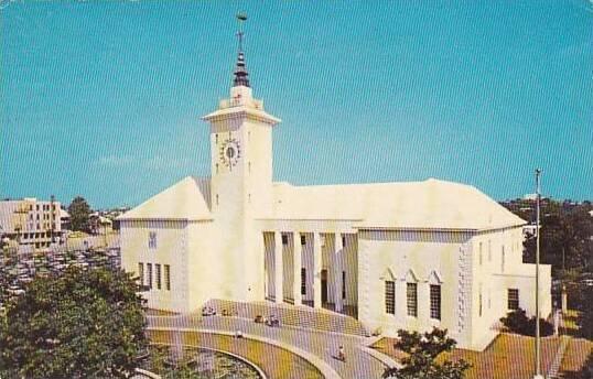 Bermuda Hamilton City Hall