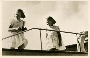 Dutch Royalty -  Princess Beatrix and Princess Irene   *RPPC
