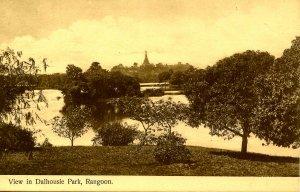 Myanmar (Burma) - Rangoon. Dalhousie Park