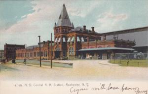 ROCHESTER , New York , 1901-07 ; N.Y.Central R.R. Station