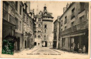 CPA LOCHES - Place de l'Hotel-de-Ville (228807)