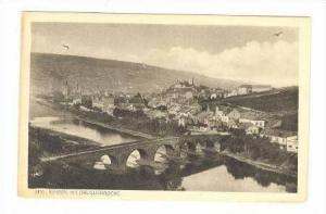 BINGEN und DRUSUSBRUCKE, Germany,  PU 1908