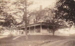 Maine Greenwood Residence Scene 1926 Real Photo