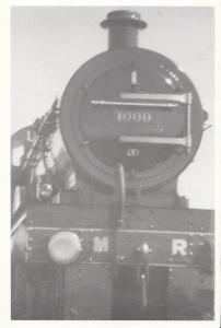 Midland 1000 Locomotive at Hellifield Station in 1980 Train Railway Postcard
