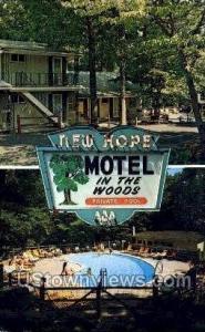 New Hope Motel Bucks County PA Unused