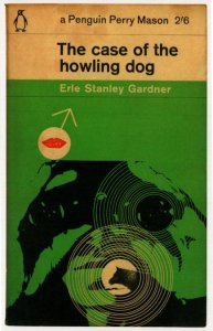 The Case Of The Howling Dog Erle Stanley Gardner 1963 Book Postcard