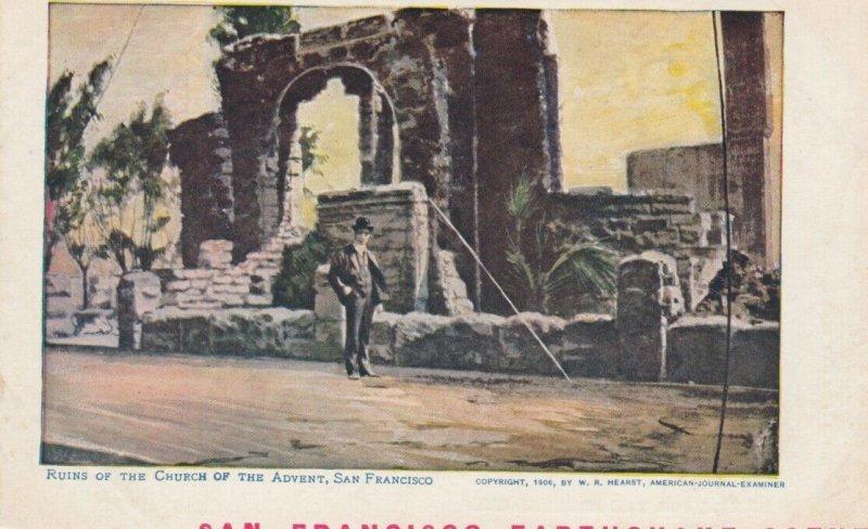 SAN FRANCISCO, California;  1906 ; Earthquake Damage #4