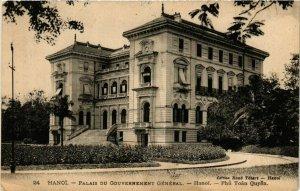 CPA AK INDOCHINA Hanoi Palais du Gouvernement General VIETNAM (956946)