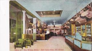 Utah Salt Lake City Wilson Hotel Office