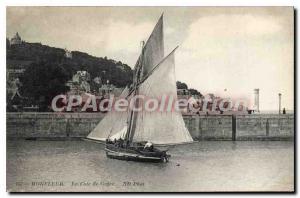 Postcard Old Honfleur La Cote De Grace