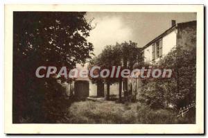 Old Postcard Ile D'Oleron Saint Pierre House grandmothers From Pierre Loti